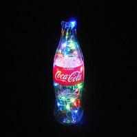 Coca Cola Multi Colour Bottle Light