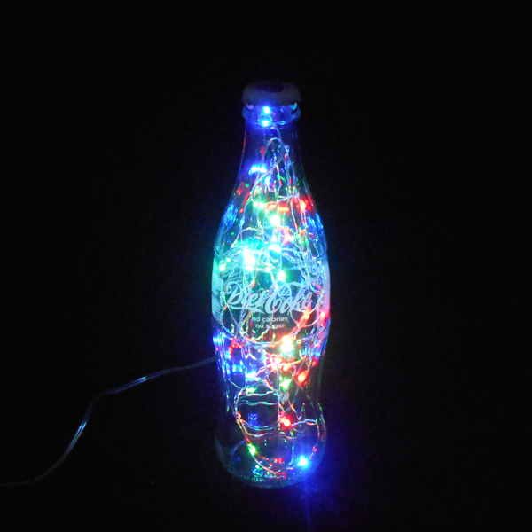 Diet Coke Multi Colour Bottle Light