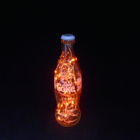 Diet Coke Amber Bottle Light