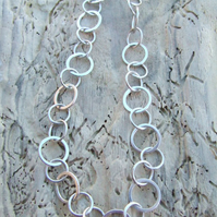 Sterling Silver Hand Made Bracelet Chain