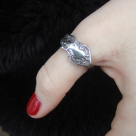 Nickel Silver Spoon Ring