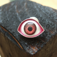 Large Eye Lapel Pin No. 3