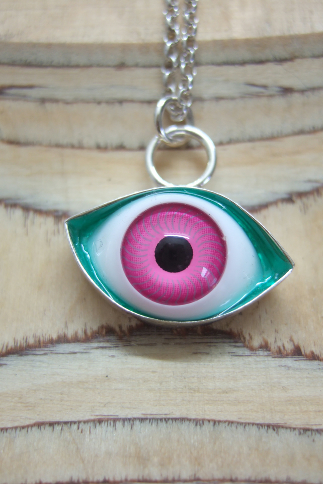 Large Eye Pendant No. 4