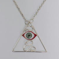 All Seeing Eye Pendant No. 2