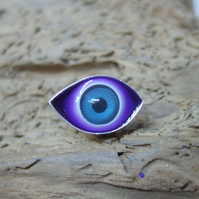 Small Eye Lapel Pin No. 4