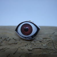 Large Eye Lapel Pin No. 5