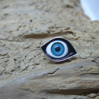 Small Eye Lapel Pin No. 6