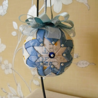 Folded Fabric New Baby Hanging Decoration