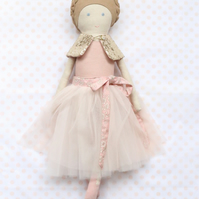 Ballerina Doll - Liberty Capel pale Pink