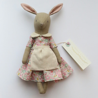 Baby Liberty Bunny - small version of my signature bunny