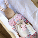 Reserved Listing for Beckie Stabile - Medium Heirloom Bunny