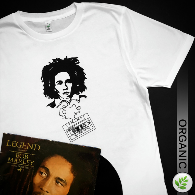 Music Legends: Bob Marley UNISEX T Shirt