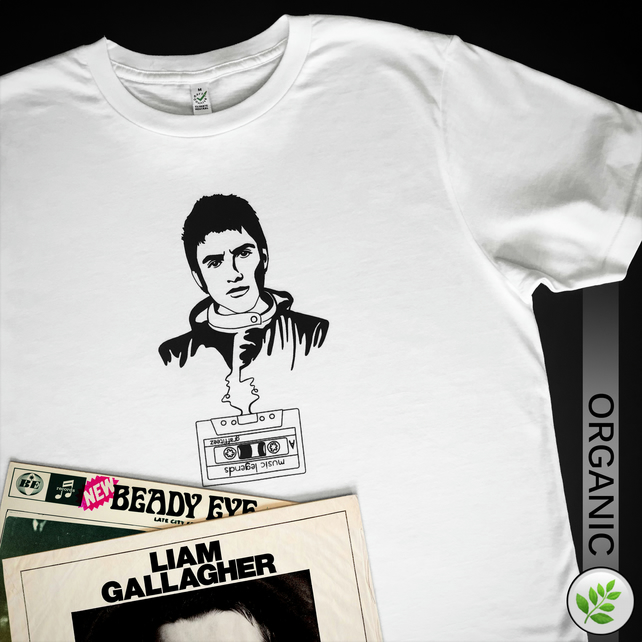Music Legends: Liam Gallagher UNISEX T Shirt