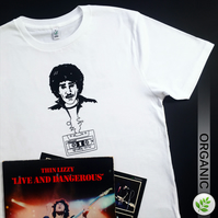 Music Legends: Phil Lynott UNISEX T Shirt