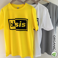 The Battle of Britpop: Blur vs Oasis UNISEX Yellow T Shirt