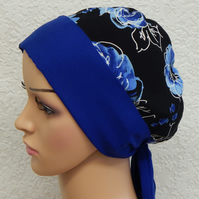Women's chemo cap, cancer head wear, chemotherapy head scarf, chemo cap