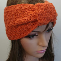 Hand knitted women turban headband