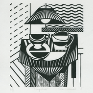 Lampshade - Ltd Edition Linocut