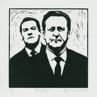 Bully Boys - Ltd Edition Linocut