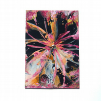 4x6 Wax Art Painting With GLITTER 004.