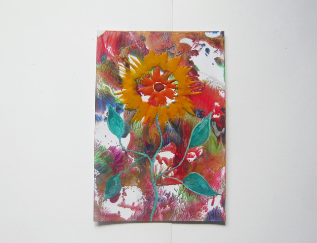 4X6 Sunflower Painting 004.