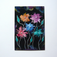4X6 Fantasy Flower Painting 005.