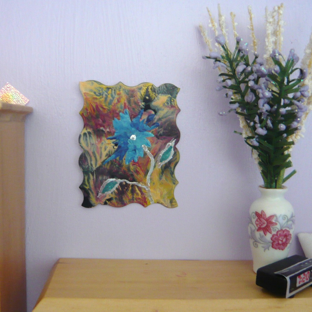 Dolls House Flower Painting 002.