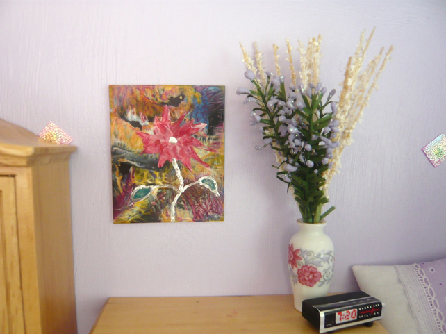 Dolls House Flower Painting 003.