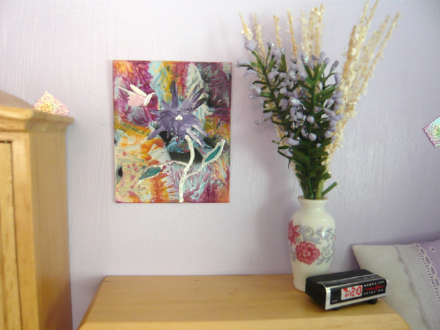 Dolls House Flower Painting 004.