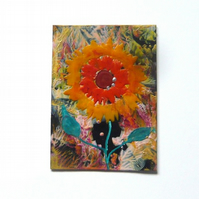 ACEO Sunflower Painting 002.
