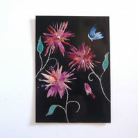4X6 Fantasy Flower Painting 019.