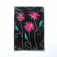 4X6 Fantasy Flower Painting 020.