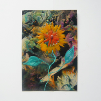 4X6 Sunflower Painting 008.