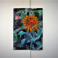 4X6 Sunflower Painting 009.