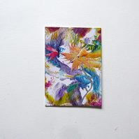 ACEO Fantasy Flower Painting 003.