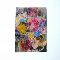 4X6 Fantasy Flower Painting 021.
