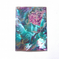 4X6 Impression Flower Painting 003.