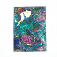 4X6 Impression Flower Painting 004.