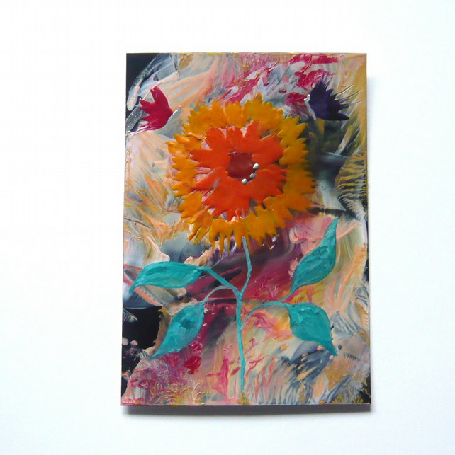 4X6 Sunflower Painting 010.