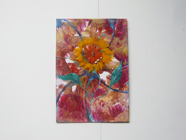4X6 Sunflower Painting 011.