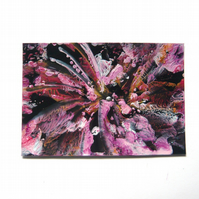 4x6 Wax Art Painting With GLITTER 009.