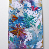 4X6 Fantasy Flower Painting 026.
