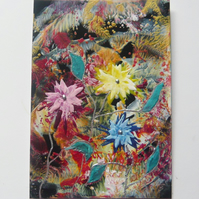 4X6 Fantasy Flower Painting 027.