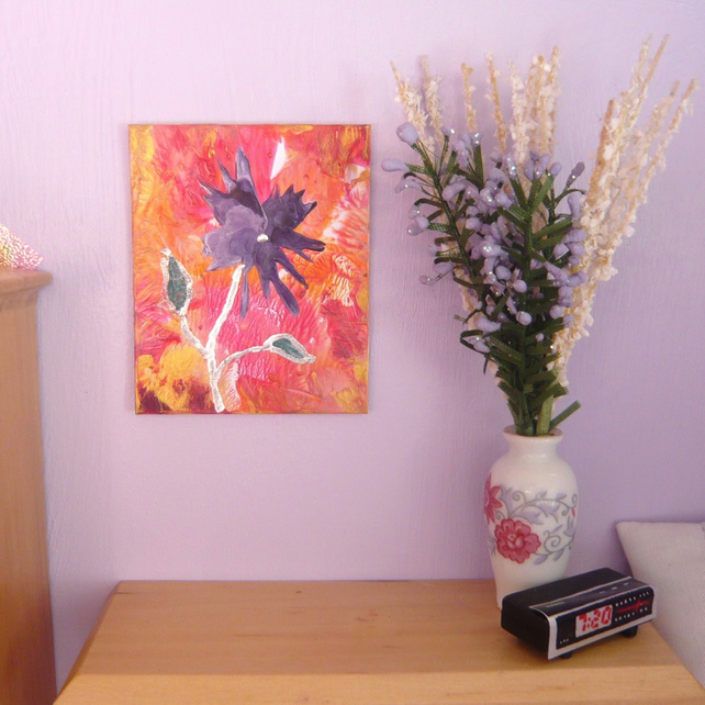 Dolls House Flower Painting 005.