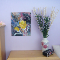 Dolls House Rose Painting 008.