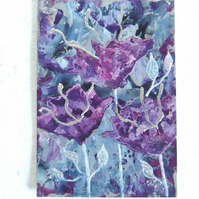 4X6 Impression Flower Painting 006.