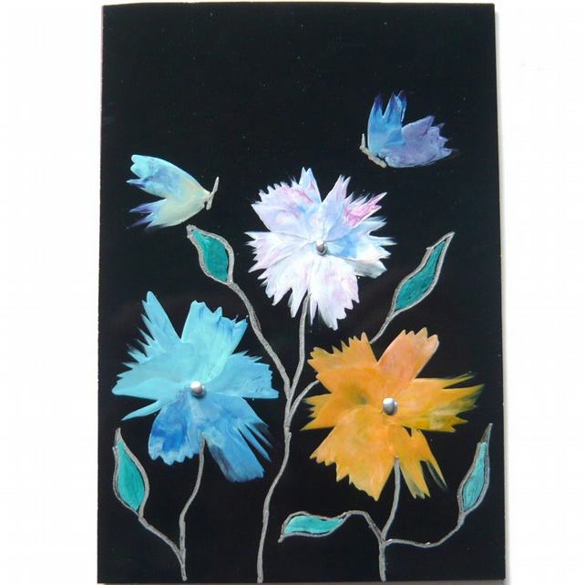 4X6 Fantasy Flower Painting 032.