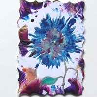 ACEO Fantasy Flower Painting 011.