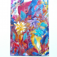 4X6 Fantasy Flower Painting 035.