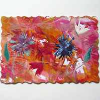 4X6 Fantasy Flower Painting 037.